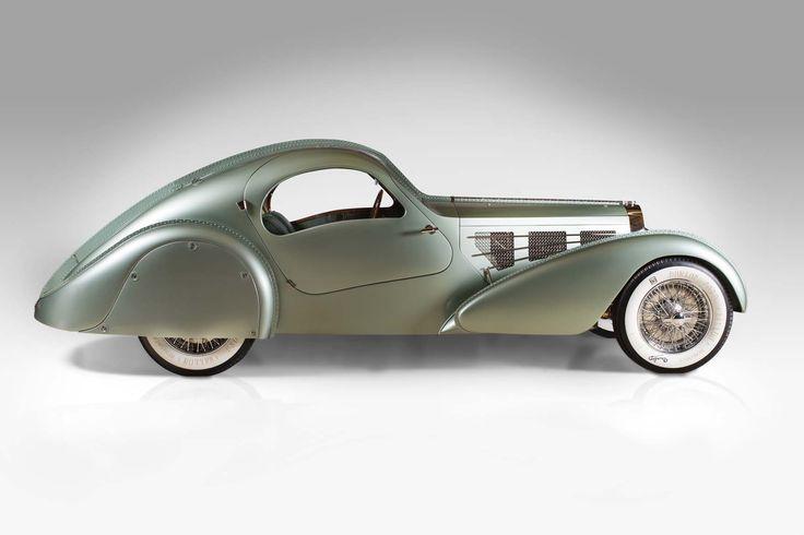 Carros de sonho - High-Tech Girl   1935-Bugatti-Aerolithe, High Museum of Art de Atlanta