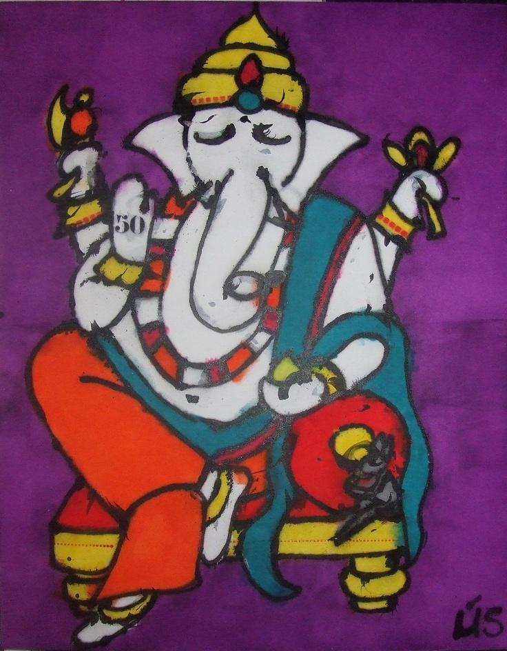 Ganesha 80 x 100 cm   www.madeby-us.nl