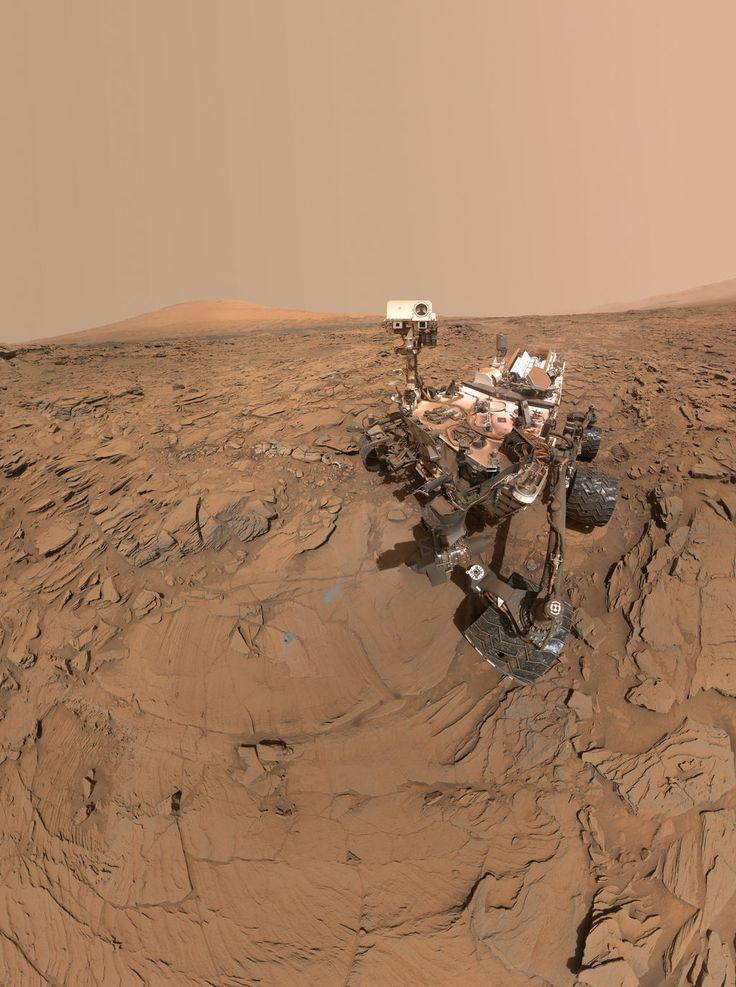 """celestialreconnaissance: """" You may have seen that the Curiosity rover is back in the news lately! This is because the NASA has released some fantastic (as usual) new images from the rover. Curiosity is still busy exploring the base of Mt. Sharp on..."""
