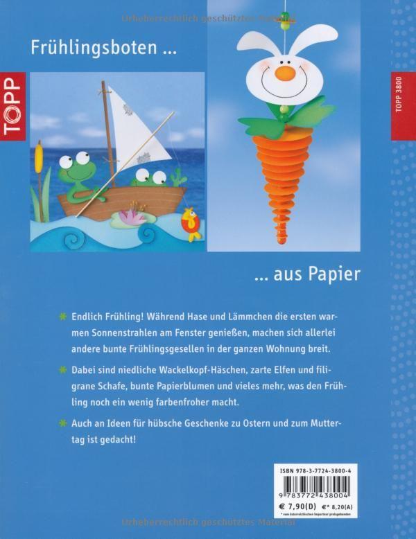 Fröhlich-bunter Frühling: Dekorationen und Geschenke aus Papier: Amazon.de: Pia Pedevilla: Bücher