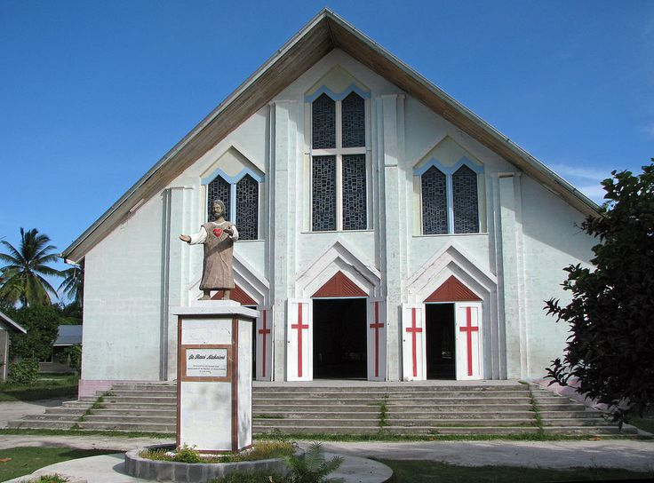 https://flic.kr/p/7SsS9e | Kiribati 09632 | Catholic Cathedral, Teaoraereke, South Tarawa, Kiribati
