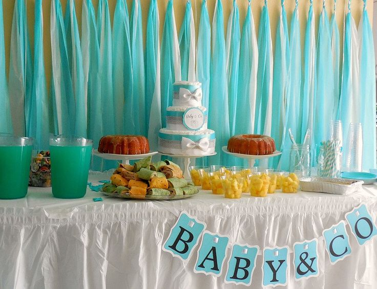 Tiffany Blue Baby Shower   Google Search