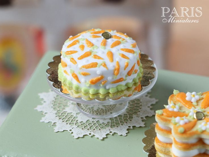 Sainsbury S Cake Decorations Mini Carrots : 1000+ images about Miniatures Easter on Pinterest ...