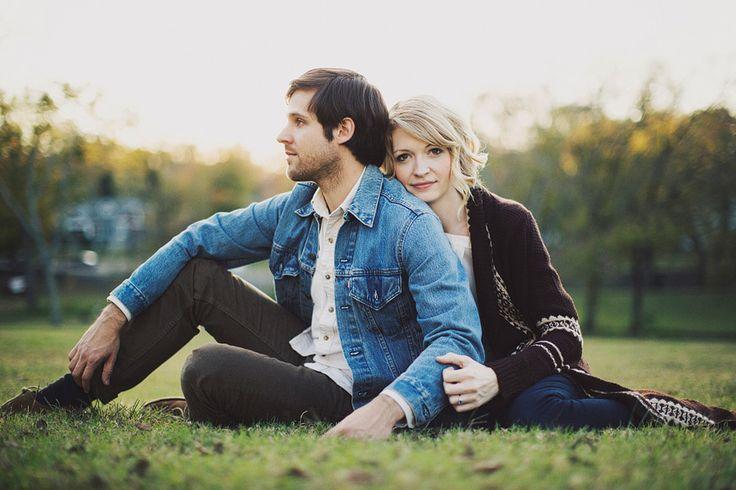 Nashville Fall Engagement Photos // Liz + Jon