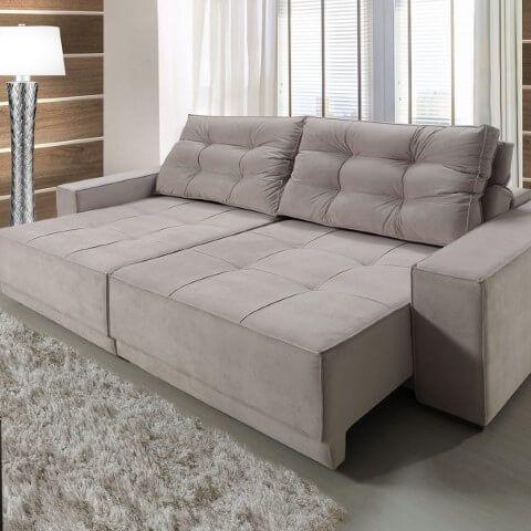 Sofá Retrátil: Mais Conforto e Praticidade para Sua Sala +52 Modelos