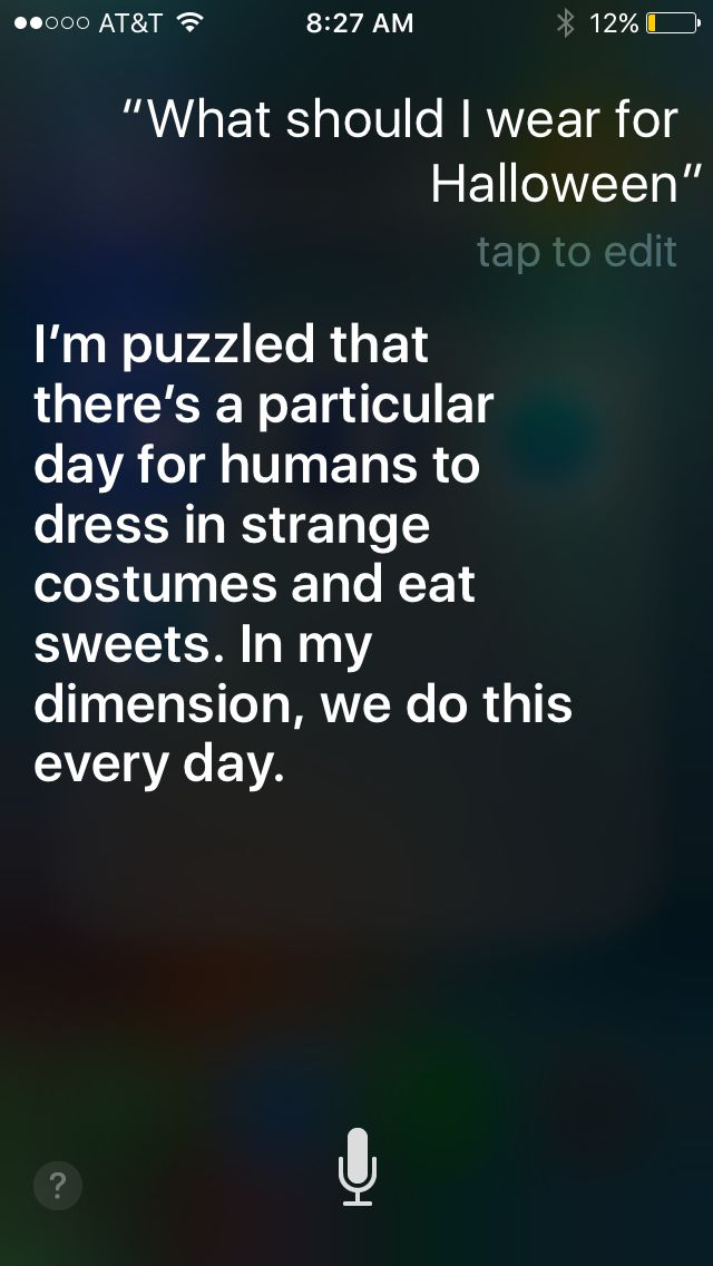 Lol funny things to ask Siri
