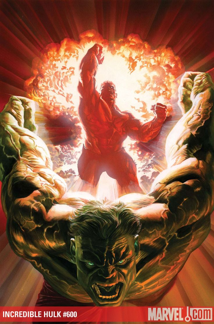 Incredible Hulk #600 - INCREDIBLE HULK #600 - Cover by: Alex Ross, Tim Sale, Ed McGuinness