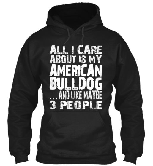 Limited Edition - MY AMERICAN BULLDOG
