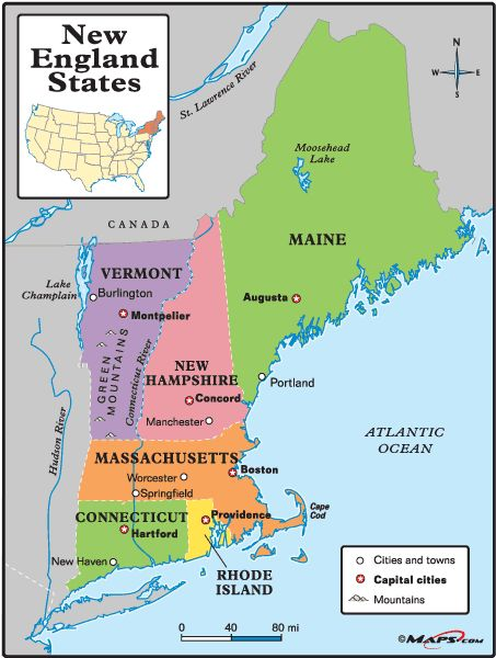 New England is the only one of the United States Census Bureau's nine regional division multi-state region with clear, consistent boundaries. Description from thegearpage.net. I searched for this on bing.com/images