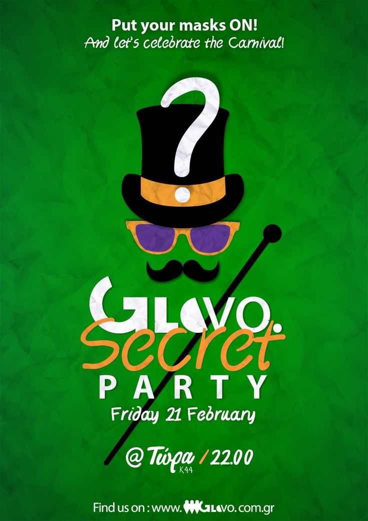 GloVo Secret Party