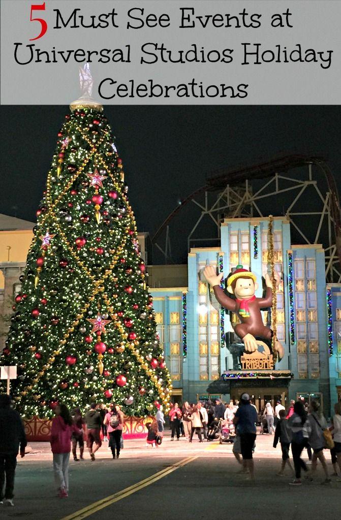 christmas at universal studios hollywood 2018