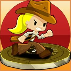 The Adventures of Indiara are starting! Play with Indiara, a girl who loves to collect ancient artifacts. Indiara now have to get 8 gold skulls that are in a cave full of traps! And what?s worse, has a gigantic rock that pursues Indiara! You will escape the cave? http://www.gamespinn.com/category/adventure-games/