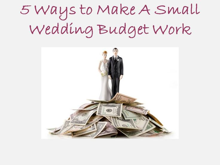 You only need three things to get married – a marriage license, an officiant, and two witnesses – everything after that is fluff. Ok, that's an extreme oversimplification, but don't miss the point. When managing a tight budget, it's important to maintain a healthy perspective and a positive attitude. It's easy to cut wedding costs while still having an elegant and memorable event. Here's how: