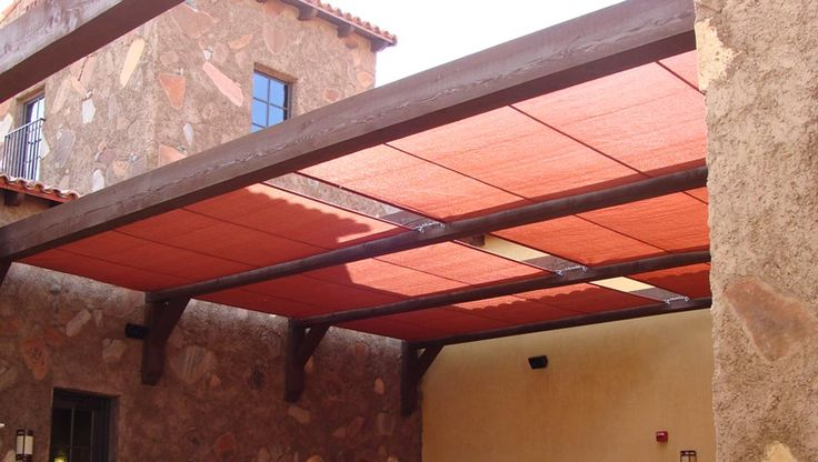 Roman Shade Sails | Community Clubhouse - Queen Creek, Arizona