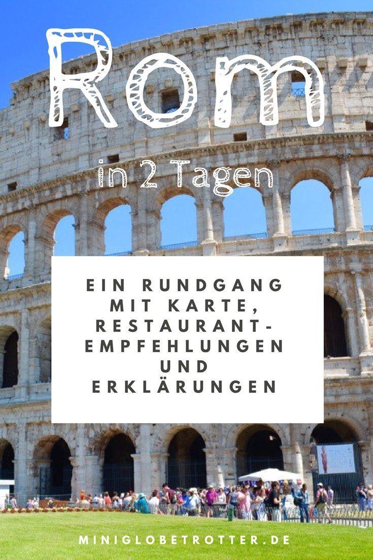 Rom In 2 Tagen Ein Rundgang Mit Tipps Restaurantempfehlungen
