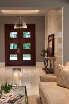 Contemporary on the water - contemporary - entry - miami - Weber Design Group, Inc.