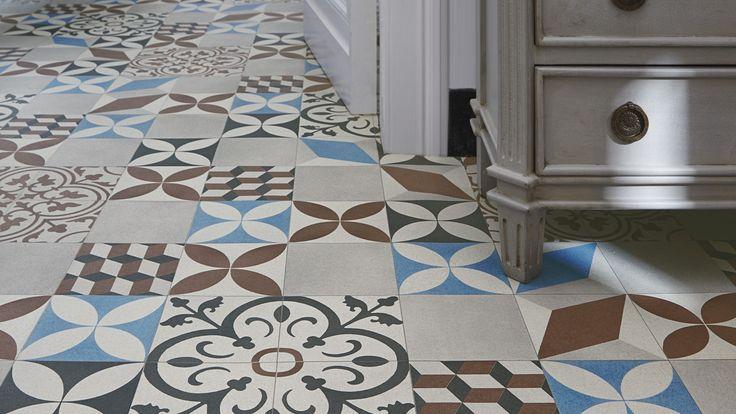 Sol vinyle loft carreau ciment id es pour la maison - Saint maclou carreau ciment ...