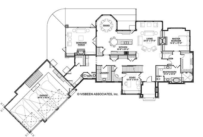 Basketball Court Floor Plan: Basketball Court House; Has A Good Main Level
