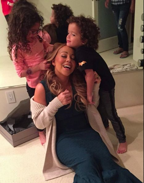 Mariah Carey & Her Children