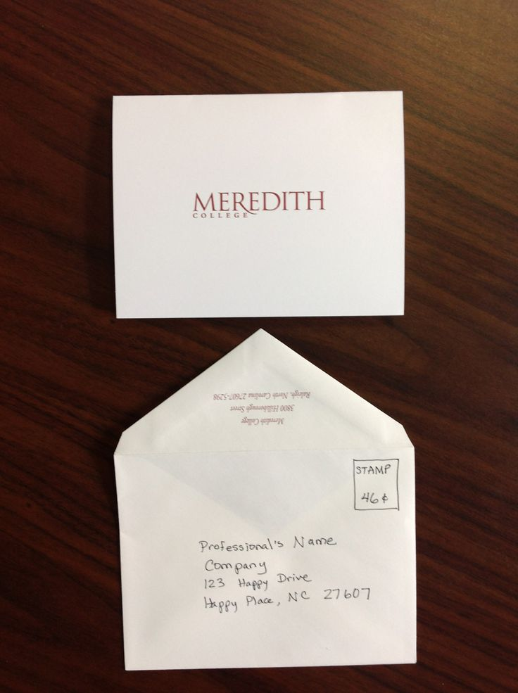 Send Handwritten Thank You Cards Within  Hours Of Your Interview