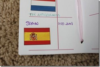 """Spain:  ■Located Spain and it's capital on the map  ■Learn about their flag  ■Say """"Hello"""" in Spanish-Hola, buenos dias(good day), gracias(thank you)  ■Learn a song in Spanish  ■Learn 6 animals of Spain  ■Learn about Christopher Columbus(Even though he was originally from Italy, he spent most of his adult life in Spain)  ■Learn about Pablo Picasso & try painting inspired by Deep Space Sparkle  ■Try Spanish food"""