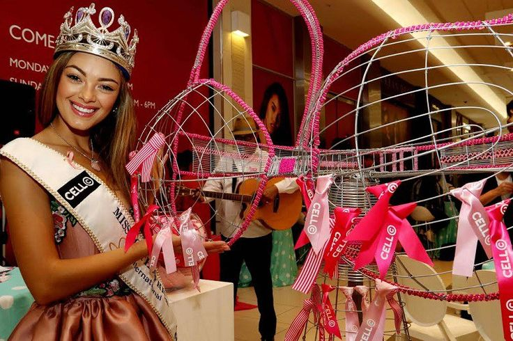 Miss South Africa launches Breast Cancer Awareness Campaign @Official_MissSA