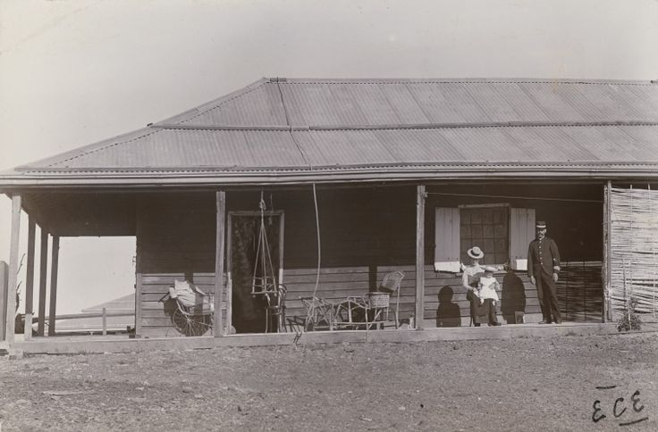 BA338/1/43: Police Constable Downie at his Roebourne home, 1900 http://encore.slwa.wa.gov.au/iii/encore/record/C__Rb4721860?lang=eng