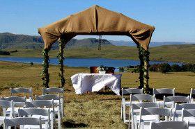 A beautiful outside wedding venue in the KZN Drakensberg - http://www.weddingflair.co.za/item/sani-valley-lodge/
