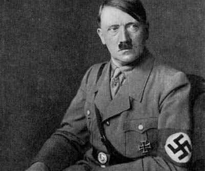 Notorious: Synonym: Adolf Hitler is a very well known man but is unfavorable for being the leader of the Nazi Party and responsible for killing millions of people.