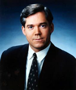 """David Bloom (1963 - 2003) NBC News reporter and weekend anchor of the """"Today"""" show (5/22/1963)-(4/6/2003)"""