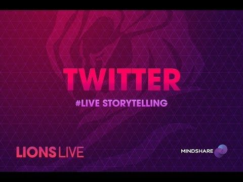 CANNES LIONS LIVE: Twitter: #Live Storytelling.