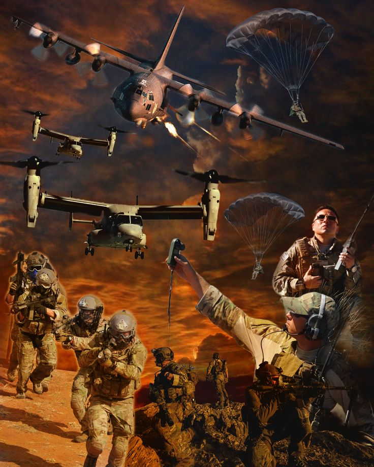 This poster was created for Air Force Special Operations Command. (U.S. Air…
