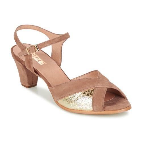 Boty Ženy Sandály So Size GOLDORE Hnědá / Zlatá