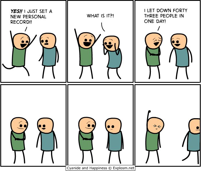 I want this as a T-shirt... xD  Credit: explosm.net