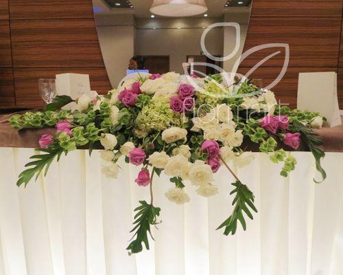 Arreglos florales para mesa de boda civil boda boda for Arreglos para boda civil