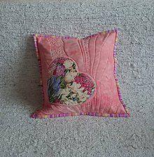 Úžitkový textil - Kvetinová láska - 6376794_