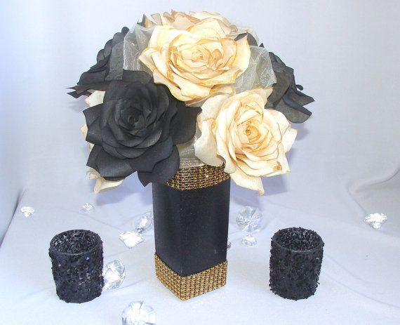 Best ideas about black centerpieces on pinterest diy