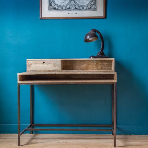 24 best bureau images on pinterest desks oak desk and. Black Bedroom Furniture Sets. Home Design Ideas