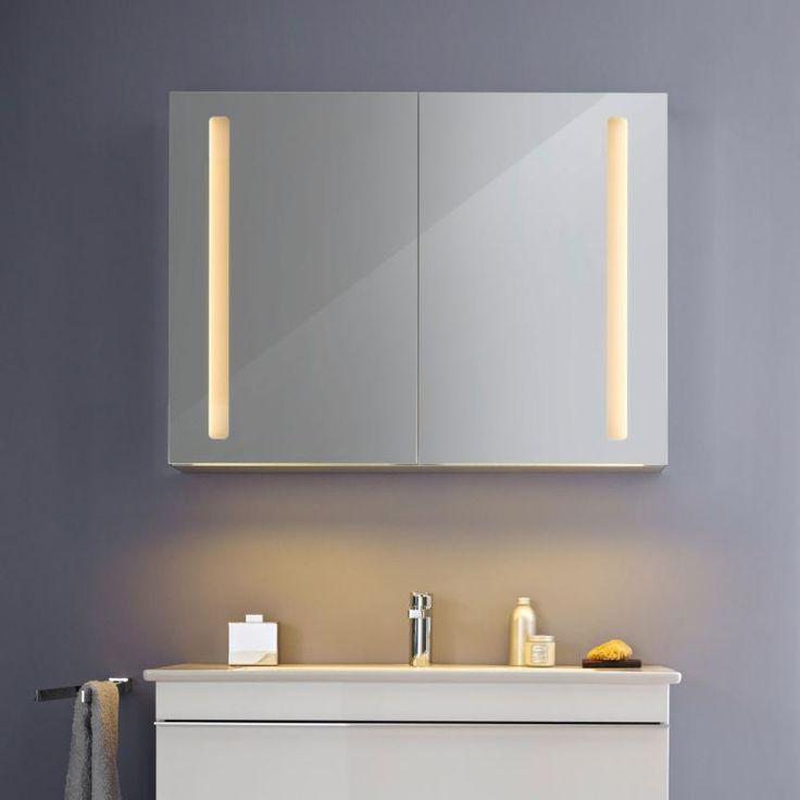 Die besten 25+ Spiegelschrank mit beleuchtung Ideen auf Pinterest - led beleuchtung badezimmer