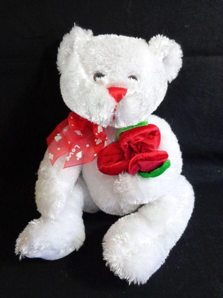 A pretty little teddy bear to win your heart!