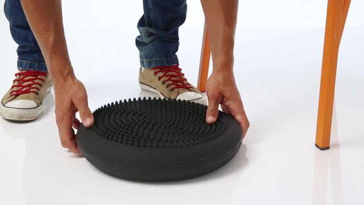 Bewegt sitzen für deinen gesunden Rücken - TOGU Dynair Ballkissen - http://pkmed.eu/pl/szukaj?controller=search&orderby=position&orderway=desc&search_query=Dynair