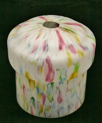 Vintage retro art deco marbled #multicoloured glass light #shade lamp#shade,  View more on the LINK: http://www.zeppy.io/product/gb/2/391413184177/
