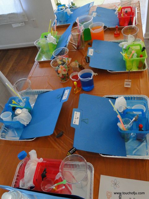 Mad Science Birthday Party Ideas | Photo 1 of 26 | Catch My Party