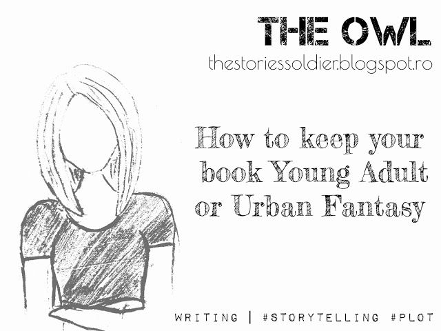 The Owl: How to keep your book YA or Urban Fantasy