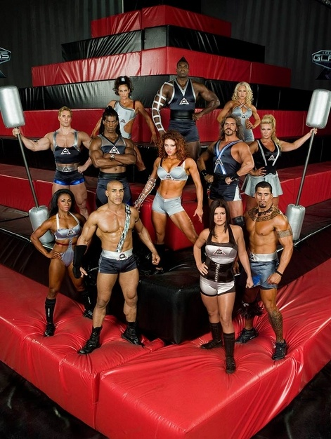 To be on American Gladiators