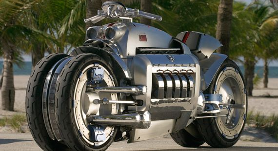 Dodge Tomahawk a moto milionária