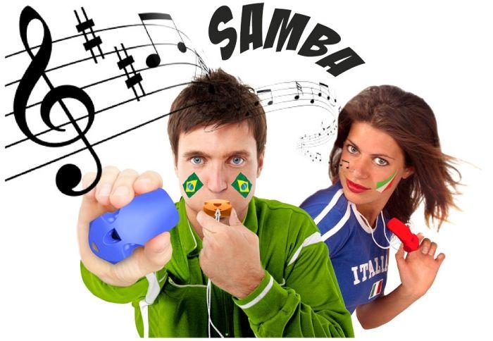 De Apito geeft voetbalfans overal ter wereld muziek, ritme en plezier. Met de Apito maakt u het ritme van de samba, de meest bekende Braziliaanse muziekstijl. De Apito maakt een prachtig zacht geluid met drie tonen. Dit is het echte geluid van Brazilië. Het Braziliaanse fluitje is verkrijgbaar in vier verschillende kleuren, wit, blauw, oranje en rood. Pvc Vrij. Exclusief design. - Gadgets wk voetbal belgië rode duivels - Relatiegeschenken
