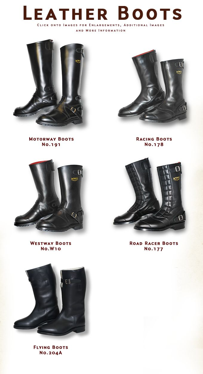 Lewis Leathers Boots Overview