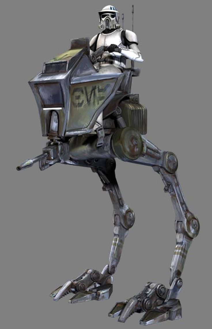 AT-RT driver, also known as AT-RT scouts, were clone troopers specially trained to pilot AT-RT walkers onto the battlefield. An AT-RT driver on his AT-RT.