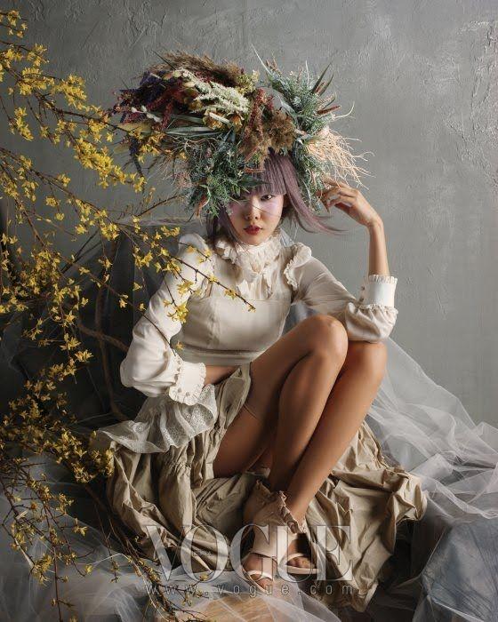 "Vogue Korea ""Spring Breeze"" Model Han Jin, Stylist Lee Ji-Ah, Hair Chae Soo…"